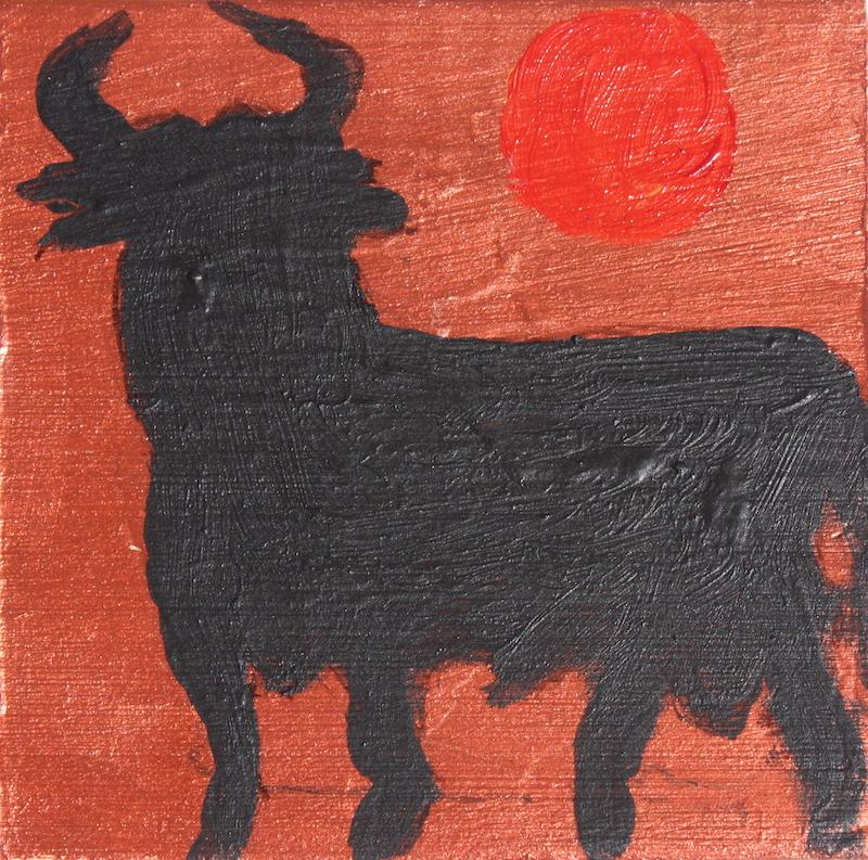 140303-3 Sp Black Bull bronze