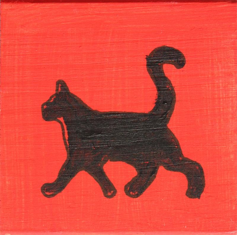 140606 - Black and White Cat