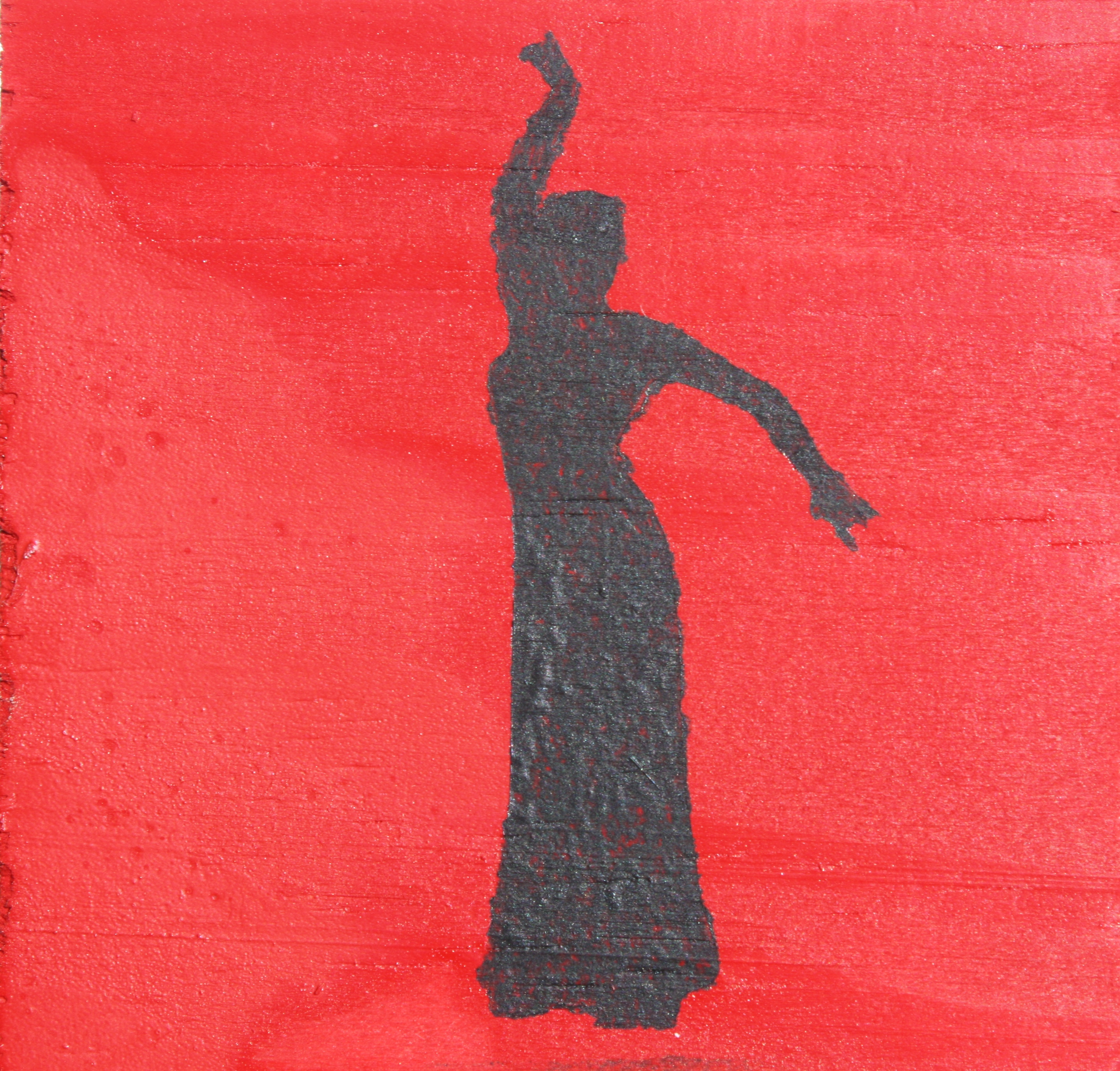 Flamenco Dancer - red