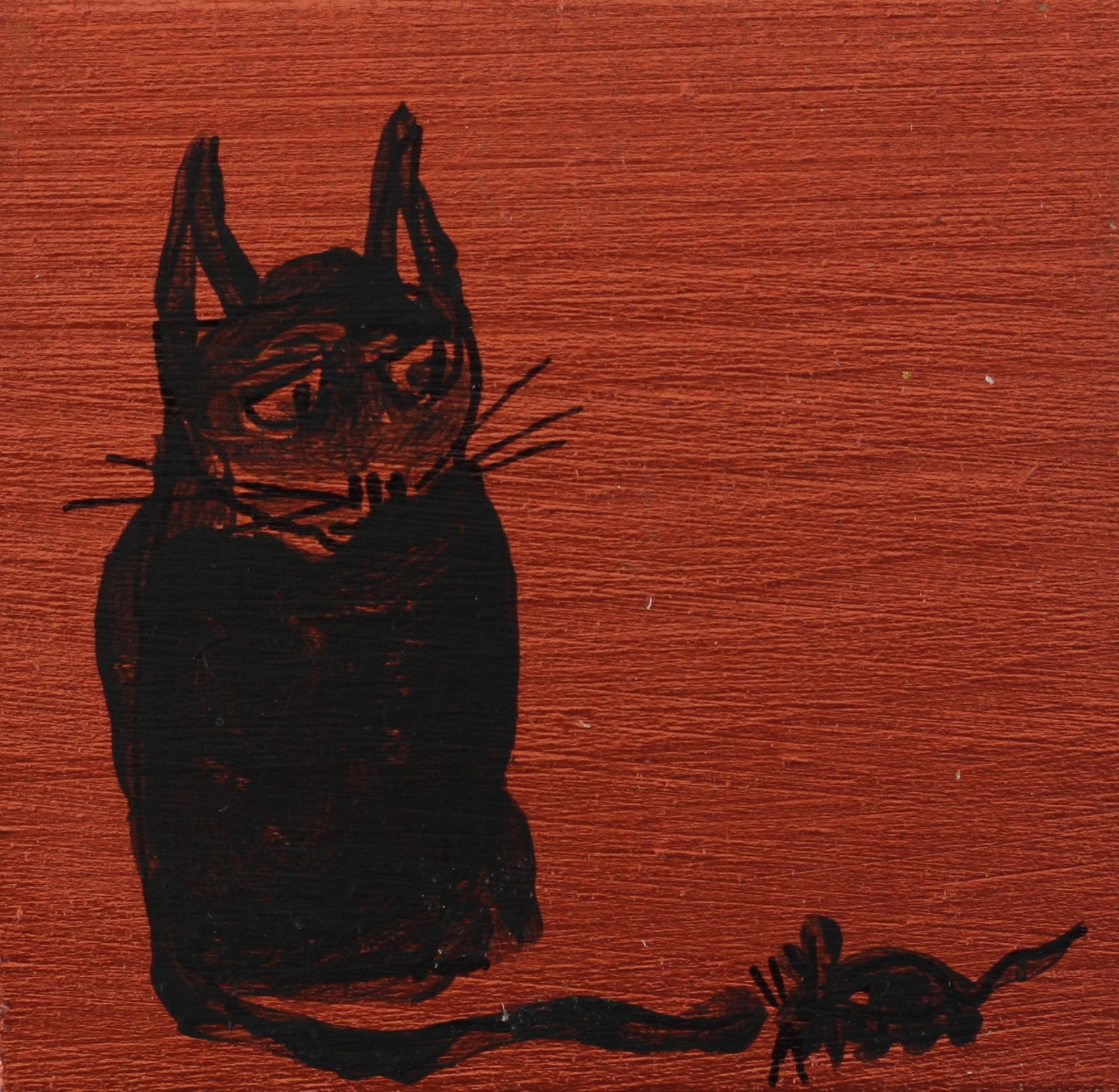 Roger Cummiskey - 140115-1 cat + Mouse - brown 20.42.50