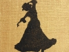 Flamenco Dancer - gold