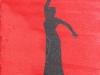 Flamenco Dancer - red