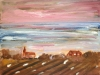 Sky over Village - Roger Cummiskey.