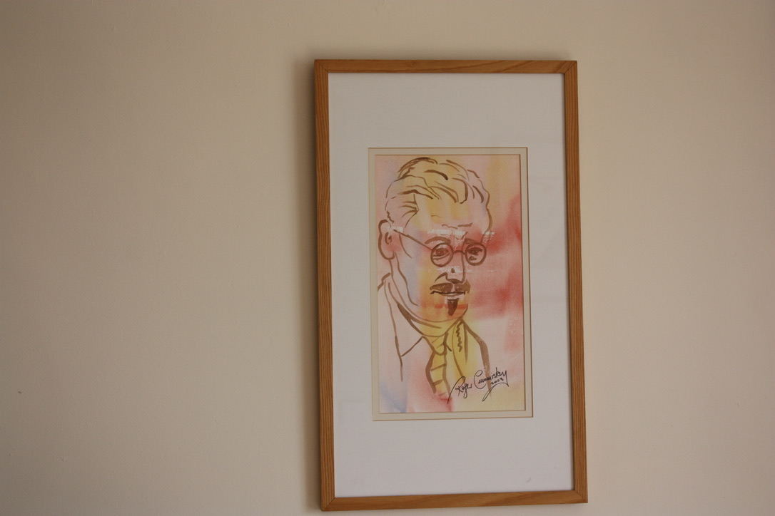 6. James Joyce Sketch, S21, wc