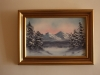 8. Winter Scene, 018, oil