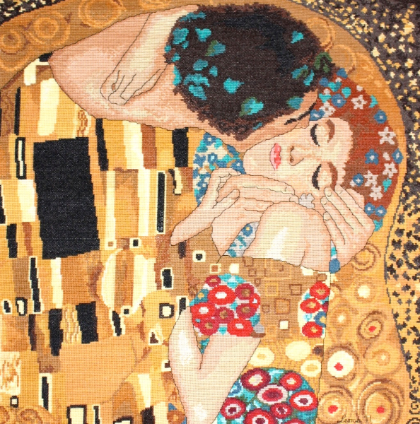 the-kiss-_after-klimt-dolores-cummiskey