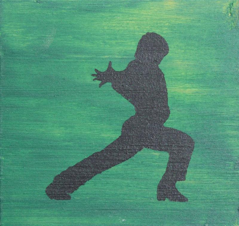 Flamenco Dancer - green male