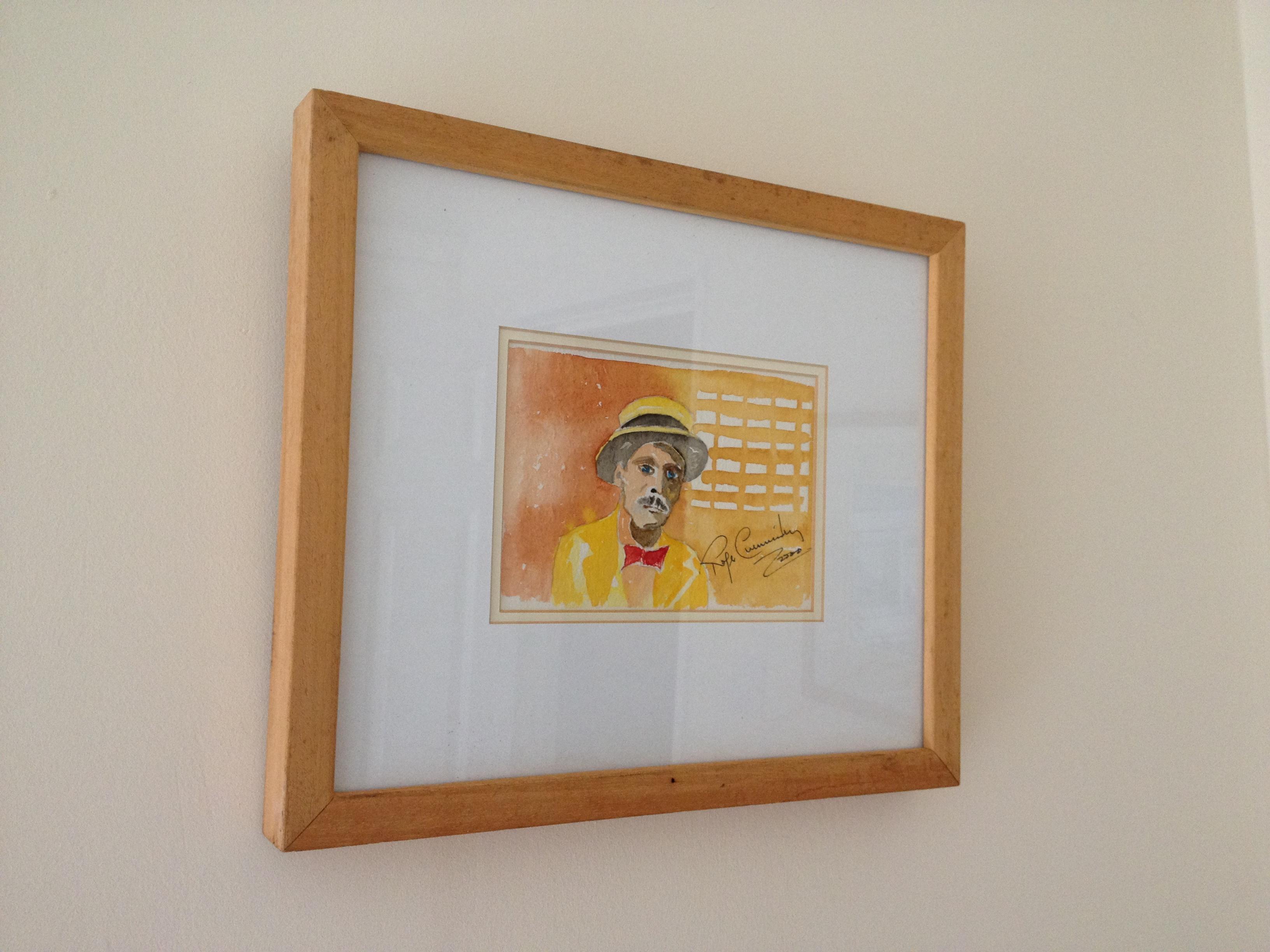 Portrait of James Joyce