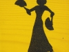 Flamenco Dancer - yellow