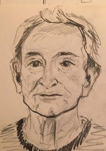 Sketch by Susi Marquez June 2016
