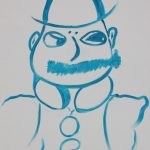 Mr Leopold Poldy Bloom -cummiskey roger, oil